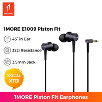 1MORE E1009 Kolben Fit Stereo In Ohr Kopfhörer 3,5mm Kopfhörer Mit mic 1,4 m Musik Stereo Für Smartphone laptop
