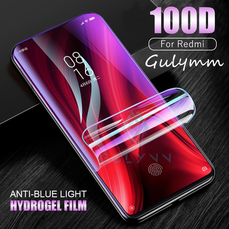 Hydrogel Soft Film For Xiaomi 9T 8 A3 A2 Lite Protective Film For Redmi K20 6 7 Note 8 7 6 5Pro Anti Blue Light Screen Protector