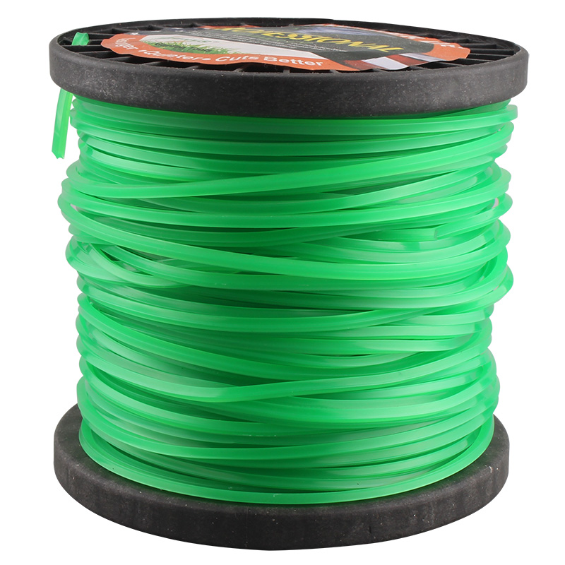 2.65/3.0mm 85M Grass Trimmer Line Strimmer Brushcutter Trimmer Nylon Rope Cord Line Long Round/Square Roll Grass Rope Line