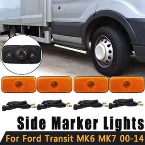 1x/2x/4x feu de position latéral avec métier à tisser pour Ford Transit MK6 MK7 2000-2014 1671689 VYC15-5034-AC