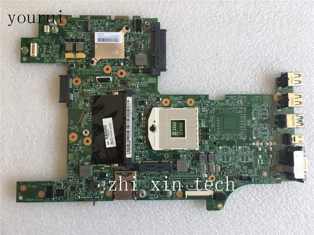 Yourui For Lenovo ThinkPad L430 Laptopmotherboard FRU;04Y2003 Tested 100% Work