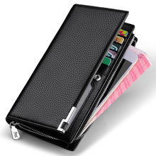 Williampolo New Men Wallets Long Clutch bag Card Holder Male