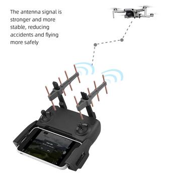 Wzmacniacz sygnału zdalnego sterowania dla DJI Mavic 2 Mini wzmocnienie wzmocnienie wzmacniacz antenowy 2 4GHz antena Yagi Booster tanie i dobre opinie ALLOYSEED NONE CN (pochodzenie) 40 g Antenna 8 8x6x2cm Signal Booster for DJI Mavic 2 Extender Amplifier Silica Gel + Pure Copper