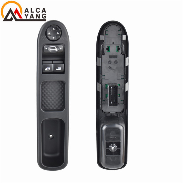 Electric Master Control Power lifter Window Switch 6554.QC For Peugeot 207 Citroen C3 Picasso 2007 2014
