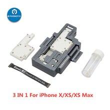 QIANLI (ket per iPhone X XS XSmax 11 11Pro max dispositivo di Test della scheda madre per iPhone Tester della funzione della scheda madre a due piani