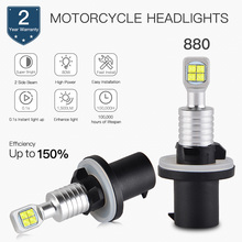 Bevinsee Motorcycle Headlight led Moto Bulb For ARCTIC CAT 400 2x4 2002-2004 4X4 Kit