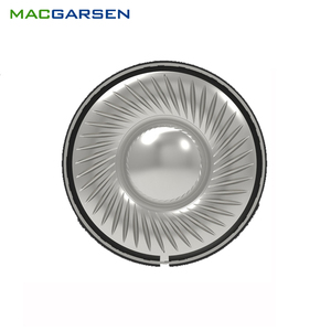 Image 1 - 2PCS 40mm Headphone Speaker 0.1W 32ohm Headset Horns DIY HIFI Wireless Bluetooth Headphones Horns Titanium Speakers
