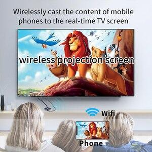 Image 4 - 4K H.265 2.4/5G kablosuz WiFi ekran Dongle alıcı HDMI TV çubuk mini PC AnyCast için Airplay DLNA Miracast kablolu monitör aynı ekran