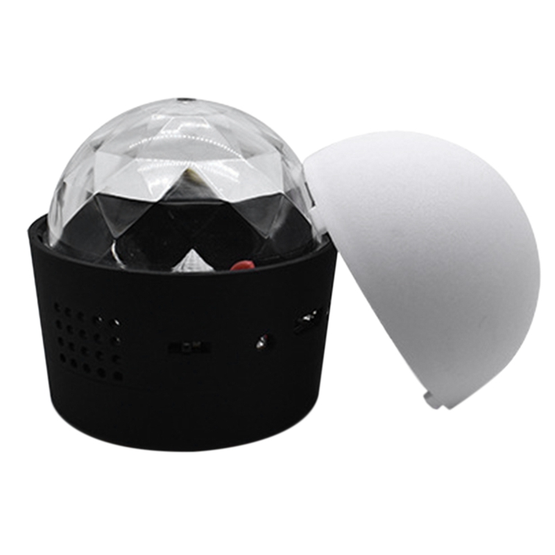 Mini Wireless Disco Ball Light Sound Activated Led Party Strobe Car Light Portable 3W 5V Usb Rechargeable Rgb Dj Led Stage Lig