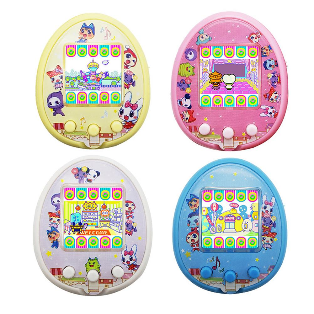 Newest Upgrade Children's Interactive Virtual Pet Game Machine Electronic Controller Puzzle Nurturance USB Charging Game Console