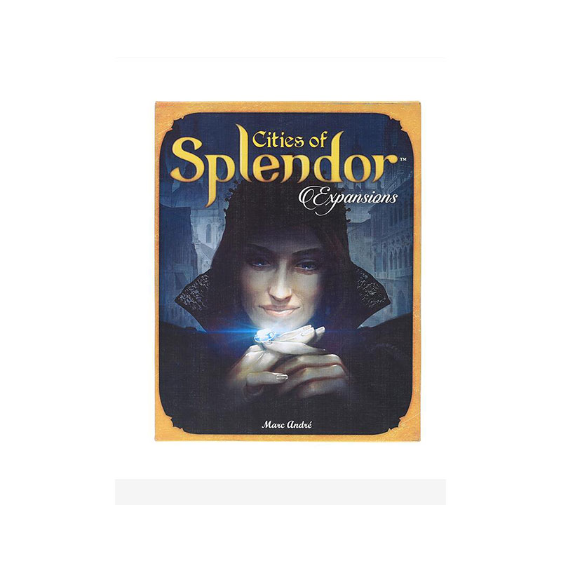 New And Interesting Splendor Board Game English Version Rubber Playmat Parent-child Interaction Adult Family Cards Game
