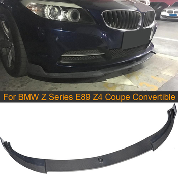 Carbon Fiber Car Front Lip Spoiler for BMW Z Series E89 Z4 Coupe 2 Door 2009-2013 Convertible 20i 28i 30i 35i Non IS Front Lip image