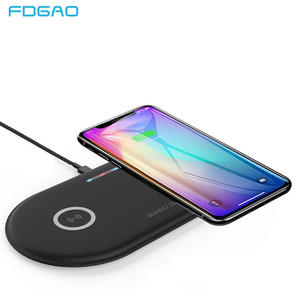 FDGAO Fast-Charging-Pad Airpods 2-Dock-Station Wireless-Charger Samsung iPhone Xr