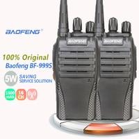 מכשיר הקשר 2pcs Baofeng BF-999 שניות מכשיר הקשר 5W 1500mAh UHF 400-470MHz Baofeng 888s amateu הרדיו משדר HF רדיו חובבים Ricetrasmittenti (1)