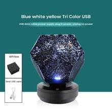 Wiele modeli zabawa gwiaździsta lampa projekcja nieba romantyczny sen obrotowy projektor dziewczyna serce pełna gwiazd Starlight Night Light
