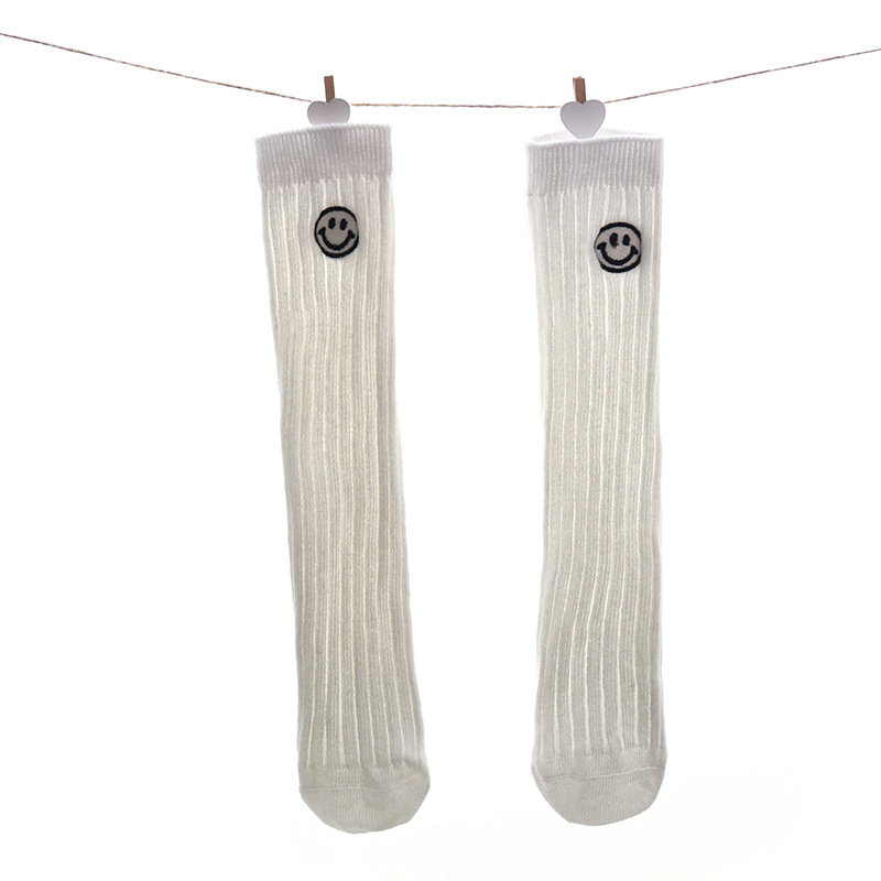 Купить с кэшбэком 1 Pair Cotton Baby Kids Socks Baby Girls Boys Winter Fall Spring Wear Solid Color Fashion Sports Casual Socks for Baby Kids