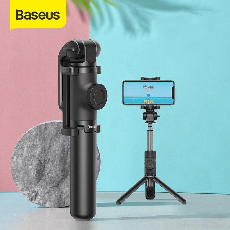 "▓DealBaseus Selfie-Stick Tripod Monopod Shutter Foldable Android-Phone Remote Bluetooth Wireless"""