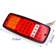 27.6*10.3*2.4cm Tail Lights Mounting Accessory for trailers 1 Pair utes 33 LED boat Stop van(China)