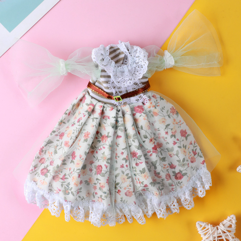 1/6 Doll Clothes Fit To 28cm Doll BJD Accessories 10-12inch Doll Clothes Dress Up Toys for Children