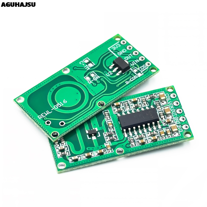 2PCS RCWL-0516 Microwave Radar Sensor Module Human Body Induction Switch Module