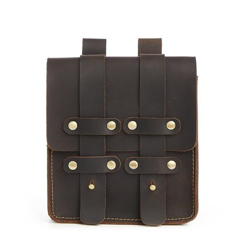Мужская поясная сумка, чтобы купить мужская нагрудная сумка для мужчин, поясная сумка 859 кожаная мужская сумка Banane Marsupio Uomo Gamba Nerka - 2