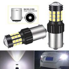 2x 1800Lm Canbus P21W 1156 BA15S 7443 1157 7440LED лампа заднего хода автомобиля DRL светодиодный светильник для Skoda Superb Octavia 2 FL 2010 2011 2012 2013