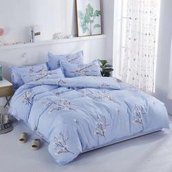 Clássico da moda tampa de cama colcha com fronha de verão e inverno grande geométrica imprimir capa dupla quilt