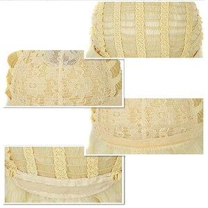 Image 5 - Hairjoy人工毛ブロンドマリー · アントワネット王女のかつらのためのハロウィン衣装