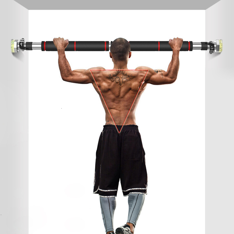 Door Horizontal Bars Steel 200kg Adjustable Home Gym Workout Chin Push Up Pull Up Training Bar Sport Fitness Sit-ups Equipments