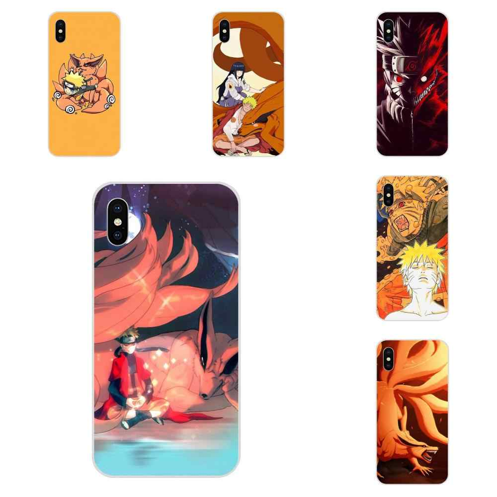 สำหรับ Galaxy J1 J2 J3 J330 J4 J5 J6 J7 J730 J8 2015 2016 2017 2018 mini Pro Soft รูปแบบ nine Tailed Demon Fox Naruto