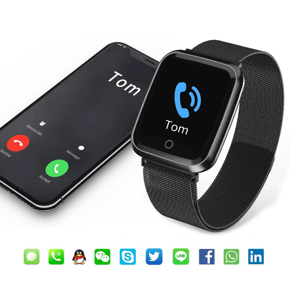 N99 Sport IP68 Smart Watch Women Men Fitness Tracker Heart Rate Monitor Waterproof Smartwatch for Android IOS apple Reloj Men in Smart Watches from Consumer Electronics