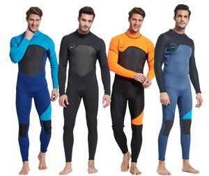 Image 1 - 新加入 3 ミリメートル男性女性水着機器ダイビングスキューバ水泳サーフィンスピアフィッシングスーツトライアスロンウェットスーツ