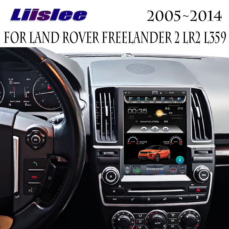 For Land Rover Freelander 2 LR2 L359 2005~2014 Liislee Car Multimedia Player NAVI 10.4 Screen Car Radio Carplay GPS Navigation