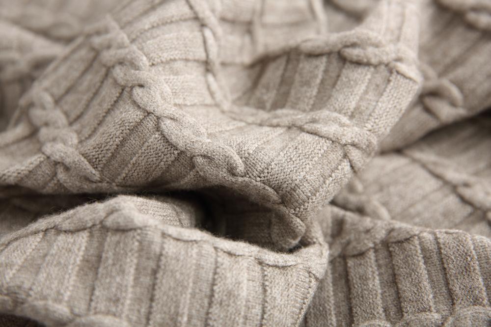 2019 mode tenue décontractée femmes hiver surdimensionné pull à manches longues col rond solide femme tricoté épais robe pull Vestidos - 5