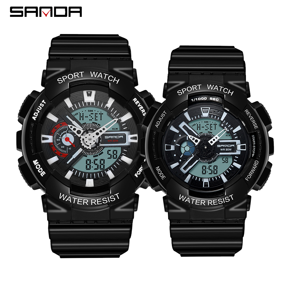 2020 SANDA Military Men's Watch Top Brand Luxury Waterproof Sport Wristwatch Fashion Quartz Clock Couple Watch relogio masculino 13