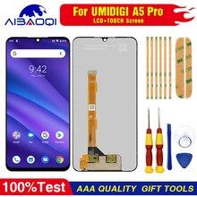 Neue original Touchscreen LCD Display LCD Bildschirm Für Umi Umidigi A5 pro Ersatz Teile + Zerlegen Werkzeug + 3M Klebstoff