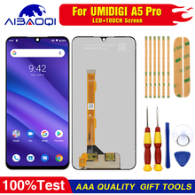New original Touch Screen LCD Display LCD Screen For Umi Umidigi A5 pro Replacement Parts + Disassemble Tool+3M Adhesive
