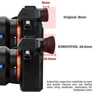 Image 2 - Camera Viewfinder Eyecup Eyepiece Eye Cup for Sony a7RIV a7RIII a7III a7RII a7SII a7II a7R a7S a7 a9 a9II a99II Replace FDA EP18