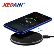 Qi Wireless Charger Receiver สำหรับ iPhone XS MAX X 8 Fast CHARGING Pad สำหรับ Samsung หมายเหตุ 9 S10 PLUS Chargeur sans Fil 10W XEDAIN(China)