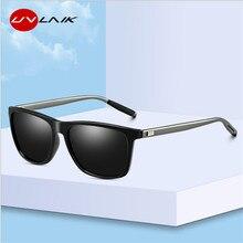 UVLAIK Classic Polarized Sunglasses Men Retro Brand Designer Driver Su