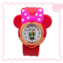 New 3D Cartoon Lovely mickey watch children girls boys students