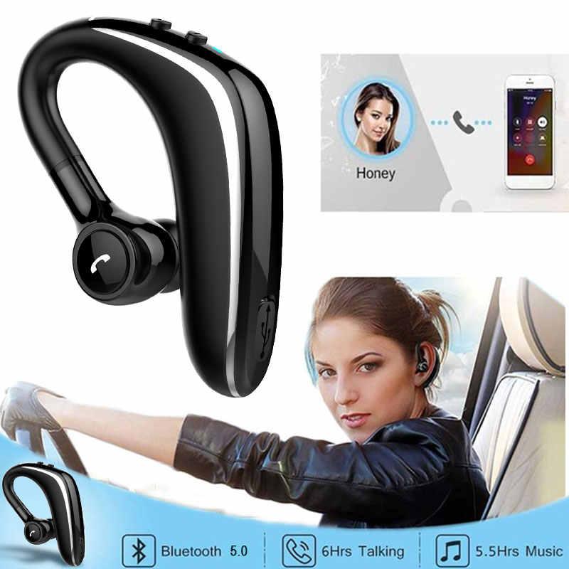 VEHEMO kierowca samochodu zestaw słuchawkowy bluetooth Mini bezprzewodowy wzywa wibracje przypomnieć ręce słuchawki bez noszenia klip słuchawki douszne do biegania