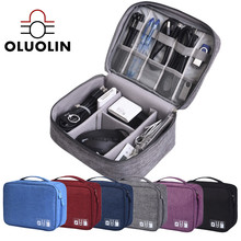 Storage Bag Parts Mobile Power Organizer Bags Waterproof Travel Digital Cable Electronics Accessories Case Earphones Luggage