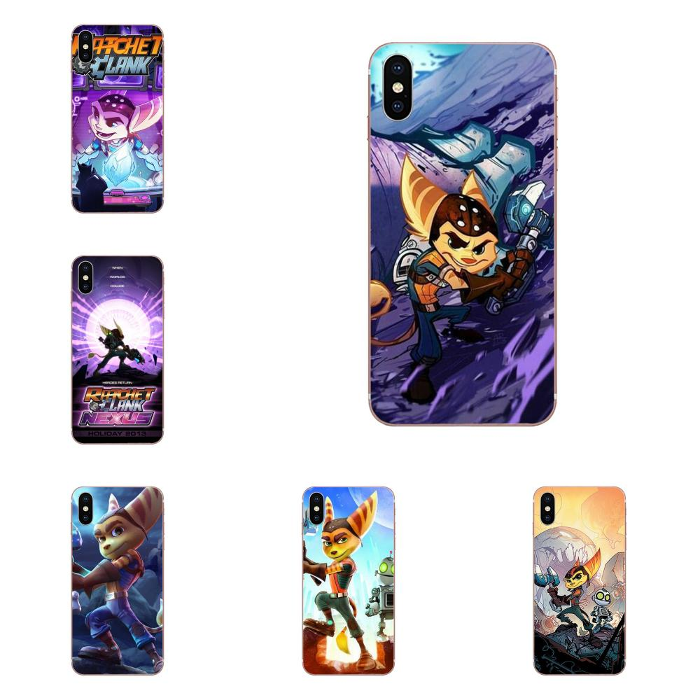 Game Ratchet And Clank Soft TPU Patterns For Galaxy J1 J2 J3 J330 J4 J5 J6 J7 J730 J8 2015 2016 2017 2018 mini Pro image
