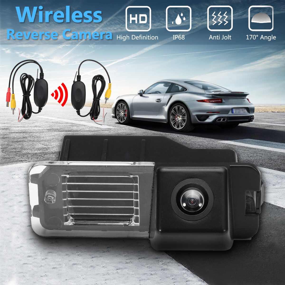 Caméra de recul de voiture sans fil HD CCD pour VW Polo V (6R) Golf VI Passat CC MK4 MK5 MK6 GTi R20
