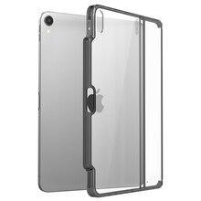 Smart Toetsenbord & Potlood zijn NIET INBEGREPEN! Voor iPad Pro 12.9 Case 2018 Cover met Potlood Houder, Compatibel met Smart Toetsenbord