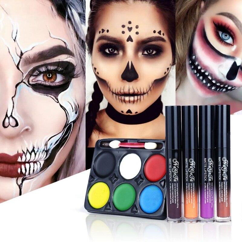 Get Halloween Makeup With Eyeshadow Gif