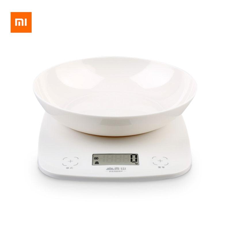 Xiaomi Youpin Xiangshan Electronic Kitchen Scale EK9643K White 1g High Precision LCD Display Detachable Tray