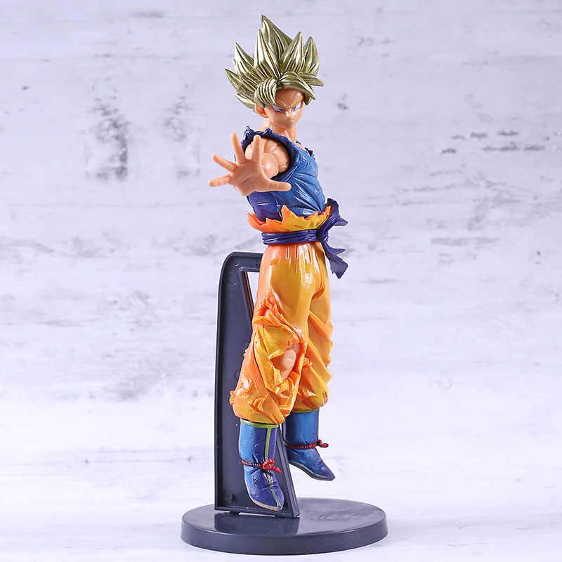 Dragon Ball Z Супер Саян Сон Гоку крови сайянов специальная фигурка Стрекоза модель игрушки