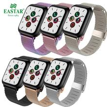 Milanese Watchband for Apple Watch 38mm 42mm 44mm 40mm Stainless Steel Women Men Bracelet Band Strap for iWatch 3 4 5 6 SE cheap EASTAR CN(Origin) 22cm Watchbands New without tags Buckle